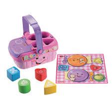 E10 picknickmand met vormen en geluid