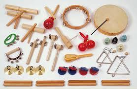 E8 houten muziekinstrumenten