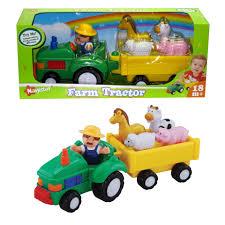F37 boerderij tractor met dieren