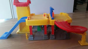 F75 garage wasstraat fisher price