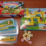 x 190 - Mijn eerste scrabble Dora (4jaar)